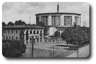 Ausstellungshalle auf dem Wildenbruchplatz in Gelsenkirchen