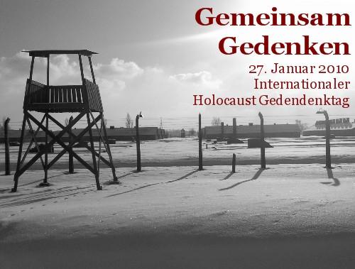 Internationaler Holocaust Gedenktag am 27. Januar 2010
