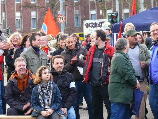 Demo am Samstag in Horst auf dem Josef-Büscher-Platz