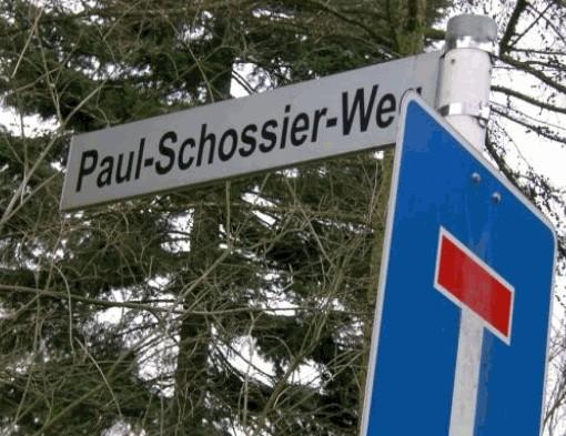 Paul-Schossier-Weg im Norden von Gelsenkirchen