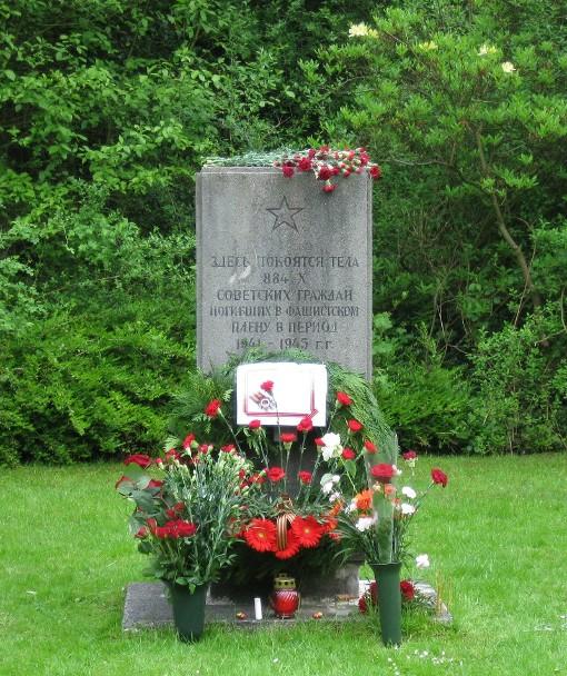 Mahnmal für russische Kriegsgefangene und Zwangsarbeiter in Gelsenkirchen-Horst