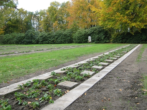 Das Grabfeld auf dem Gelsenkirchener Ostfriedhof wurde jetzt hergerichtet
