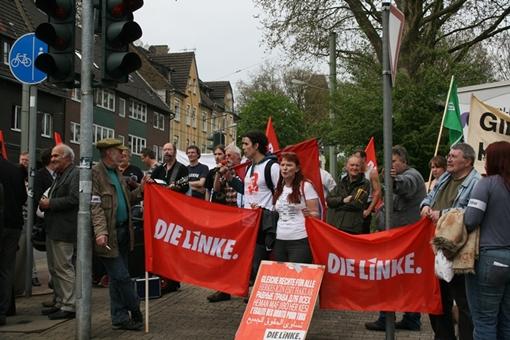 Protest gegen Pro NRW in Gelsenkirchen