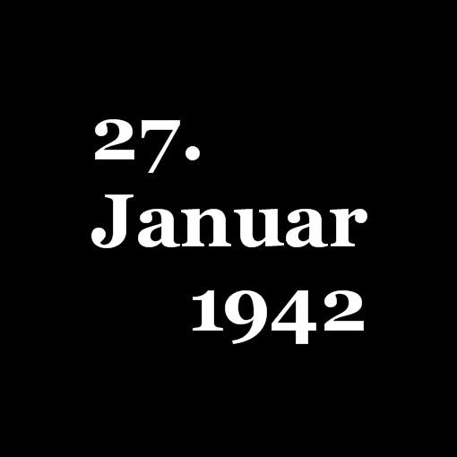 Jahrestag der Deportation - Internationaler Holocaust Gedenktag