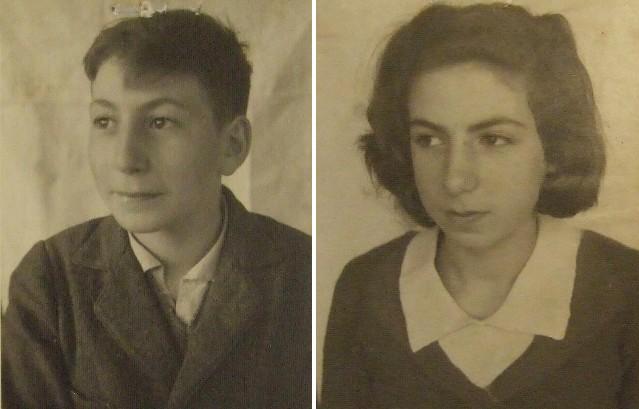 Geschwister Günsberg aus Gelsenkirchen. Ermordet in der Gaskammer  von Sobibor