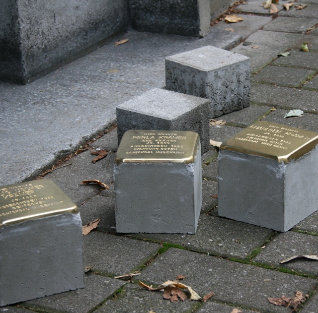 Stolpersteine in Gelsenkirchen -Verlegung 29. April 2013