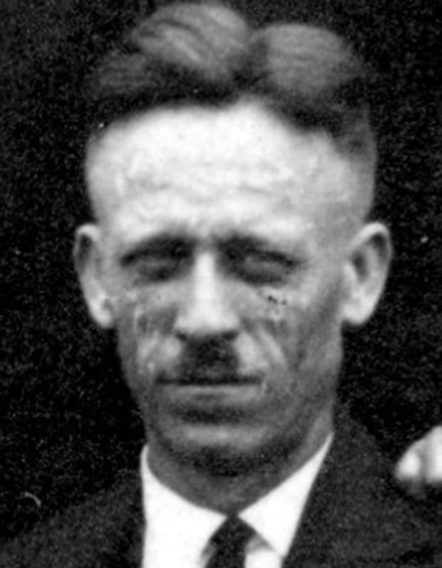 """Fritz Rahkob -  nach den schweren Jahren in so genannten """"Schutzhaft"""" war sein Mut und Widerstandswille  ungebrochen."""