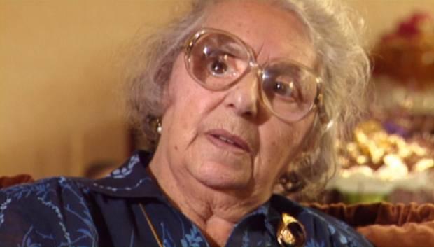 """Wilhelmine Süßkind, einzige überlebende Jüdin aus Coesfeld, überlebte das Grauen von Riga. Auch sie berichtet im Film von ihren Erlebnissen. Wilhelmine Süßkind starb 1995. (Screenshot aus  """"Wir haben es doch erlebt"""" - Das Ghetto von Riga"""" © Phönix-Medienakademie)Die DVD """"Wir haben es doch erlebt - Das Ghetto von Riga"""" mit Begleitheft kann zum Preis von 12,- € zzgl. 3,- € Versand bei der Phönix-Medienakademie bestellt werden, Bestelladresse: info@phoenix-medienakademie.com"""