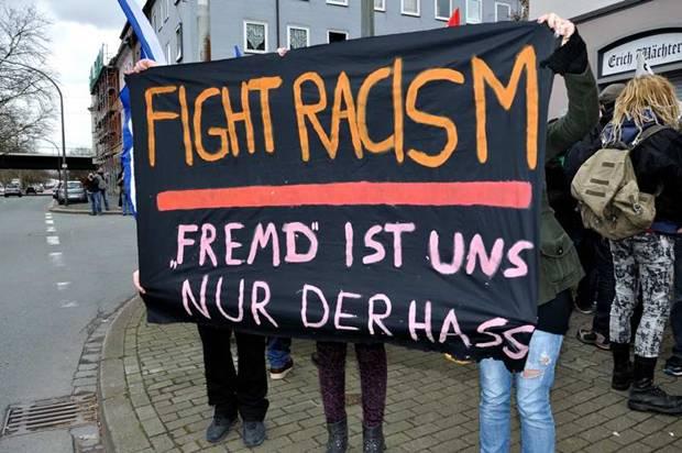 Das Problem heißt Rassismus. In Gelsenkirchen wie anderswo. (Foto: Kurt Gritzan)