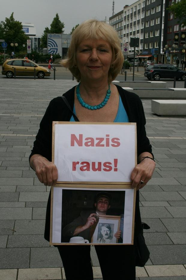 Demo gegen den Einzug von