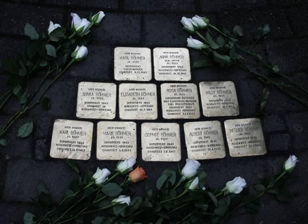 Die elfköpfige Familie Böhmer, die an der Bergmannstraße beheimatet war, wurde von den Nazis ermordet - einfach nur, weil sie der Minderheit deutscher Sinti angehörten.
