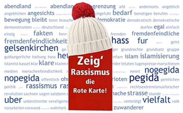 In Gelsenkirchen wie anderswo ist kein Platz für Rassismus, Hetze und Verleumdung!
